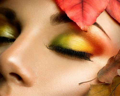 fall color eye shadow