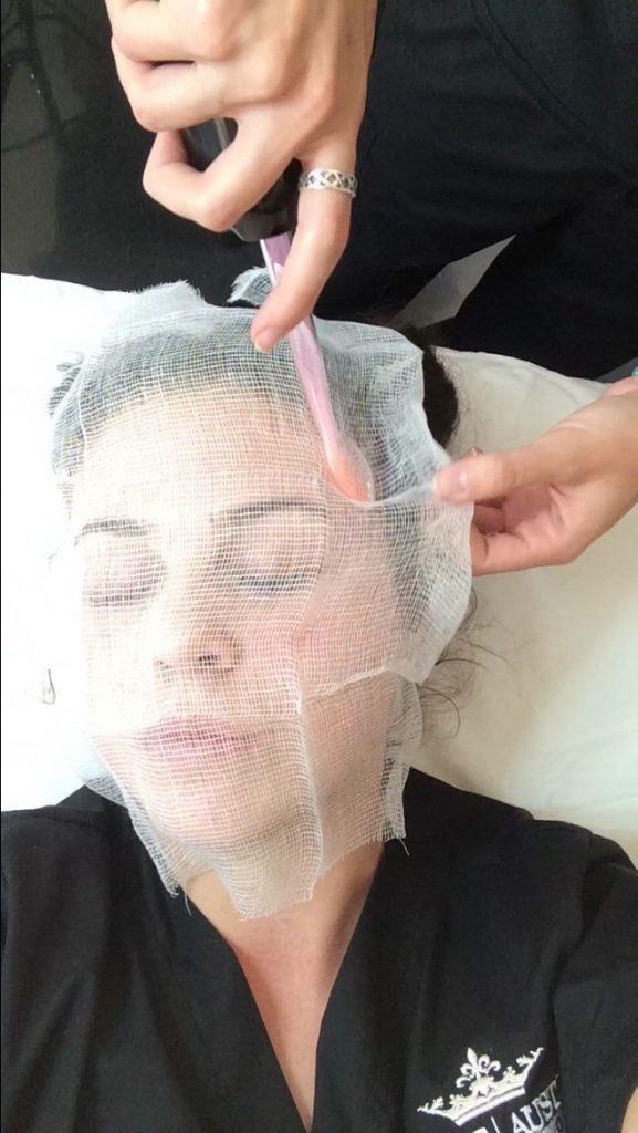 briana-preforming-facemask